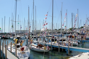 After the Race - Mackinac Harbor 1