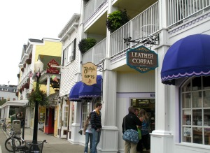 Main Street Mackinac Island
